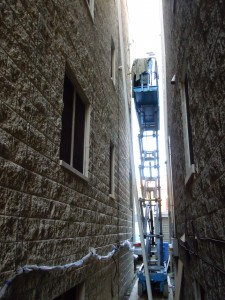 Waterproofing And Split Face Block Masonry Sealing In